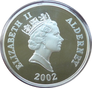 5 Pounds - Elizabeth II (Duke of Wellington) -  obverse