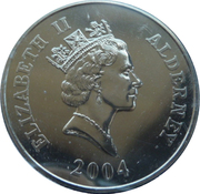 5 Pounds - Elizabeth II (Crimean War) -  obverse