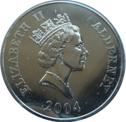 5 Pounds - Elizabeth II (21C 1 Locomotive) -  obverse