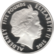 5 Pounds - Elizabeth II (Remembrance Day; Silver Piedfort) -  obverse