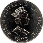 2 Pounds - Elizabeth II (Coronation Jubilee) – obverse