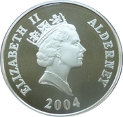 5 Pounds - Elizabeth II (Branch Line) -  obverse