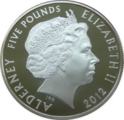 5 Pounds - Elizabeth II (State Opening of Parliament) -  obverse