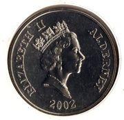 5 Pounds - Elizabeth II (Golden Jubilee) -  obverse