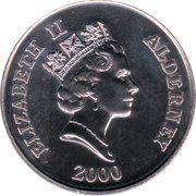5 Pounds - Elizabeth II (4th Portrait; Battle of Britain) – obverse