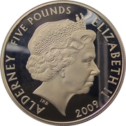 5 Pounds - Elizabeth II (Mini) -  obverse