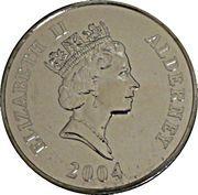 5 Pounds - Elizabeth II (H.M.S Revenge) -  obverse