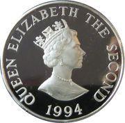 2 Pounds - Elizabeth II (D-Day; Silver Piedfort Issue) – obverse