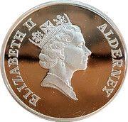 2 Pounds - Elizabeth II (Islander's Return; Silver Proof Issue) – obverse