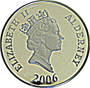 5 Pounds - Elizabeth II (Charles Davis Lucas) -  obverse