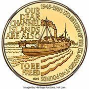 2 Pounds - Elizabeth II (Islander's Return; Gold Proof Issue) – reverse