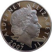 5 Pounds - Elizabeth II (Princess Diana; silver) -  obverse
