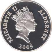 5 Pounds - Elizabeth II (Trafalgar) -  obverse