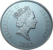 5 Pounds - Elizabeth II (4th Portrait; Preparing the Loco) -  obverse