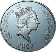 5 Pounds - Elizabeth II (4th Portrait; Train Crossing the Viaduct) -  obverse