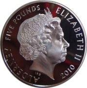 5 Pounds - Elizabeth II (John Lennon) -  obverse