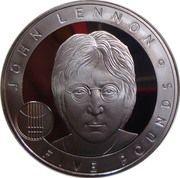 5 Pounds - Elizabeth II (John Lennon) -  reverse