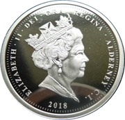 1 Pound - Elizabeth II (Remembrance Day) – obverse