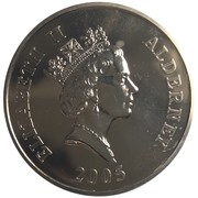 5 Pounds - Elizabeth II (End of World War II) -  obverse
