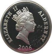 5 Pounds - Elizabeth II (Queen Elizabeth I; Silver Proof Issue) -  obverse