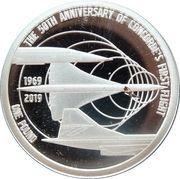 1 Pound - Elizabeth II (The 50th Anniversary of Concorde) – reverse