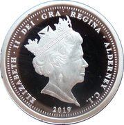 1 Pound - Elizabeth II (The 50th Anniversary of the Moon Landing) – obverse