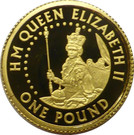 1 Pound - Elizabeth II (Queen Elizabeth I) – reverse