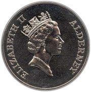 5 Pounds - Elizabeth II (Queen Mother) -  obverse