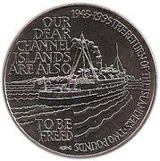 2 Pounds - Elizabeth II (Islander's Return) -  reverse