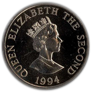 2 Pounds - Elizabeth II (D-Day) -  obverse