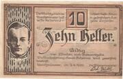 10 Heller (Aurolzmünster) – obverse