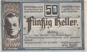 50 Heller (Aurolzmünster) – obverse