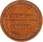1 Penny (J.Mc Farlane - Melbourne, Victoria) -  obverse