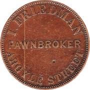 1 Penny (J.Mc Farlane - Melbourne, Victoria) -  reverse