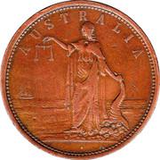 1 Penny (Martin & Sach - Adelaide, South Australia) -  obverse