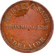 1 Penny (Martin & Sach - Adelaide, South Australia) -  reverse
