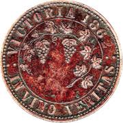 1 Penny (T. Stokes - Melbourne, Victoria) -  reverse