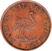 1 Penny (Stewart & Hemmant - Brisbane & Rockhampton, Queensland) -  obverse