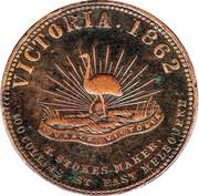 1 Penny (Robison Bros & Co - Melbourne, Victoria) -  obverse