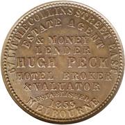 1 Penny (Hugh Peck - Melbourne, Victoria) -  obverse