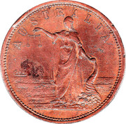 1 Penny (T.H.Jones & Co - Ipswich, Queensland) -  obverse