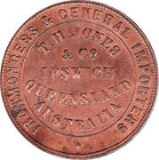 1 Penny (T.H.Jones & Co - Ipswich, Queensland) -  reverse