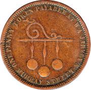 1 Penny (William Andrew Jarvey - Hobart, Tasmania) -  obverse