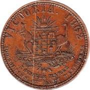 1 Penny (S. Deeble - Melbourne, Victoria) -  obverse