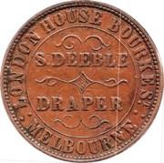 1 Penny (S. Deeble - Melbourne, Victoria) -  reverse