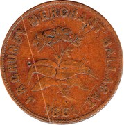 1 Penny (Grundy, J.R - Ballarat, Vic) -  obverse