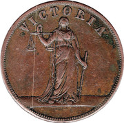1 Penny (Geo. Petty - Melbourne , Victoria) -  obverse