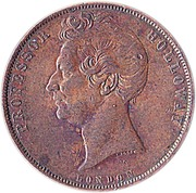 1 Penny (Professor Holloway - London, England) -  obverse