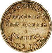 1 Penny (J. W. & G. Williams - Eaglehawk, Victoria) -  reverse