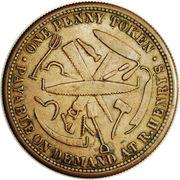 1 Penny (R. Henry - Hobart, Tasmania) -  obverse